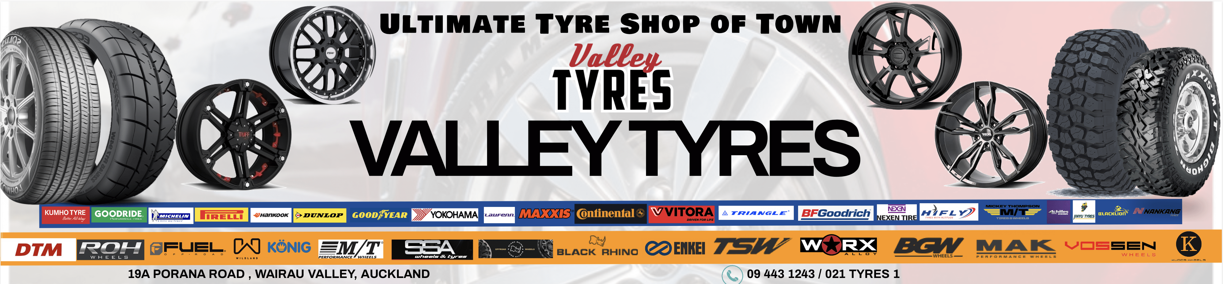 Valley Tyres Cheapest Tyre in town