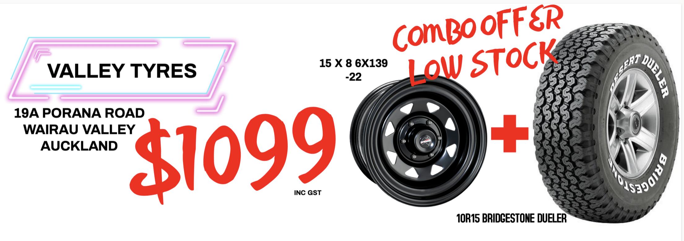 Bridgestone wheel and Tyre - Valley Wheel & Tyre Service