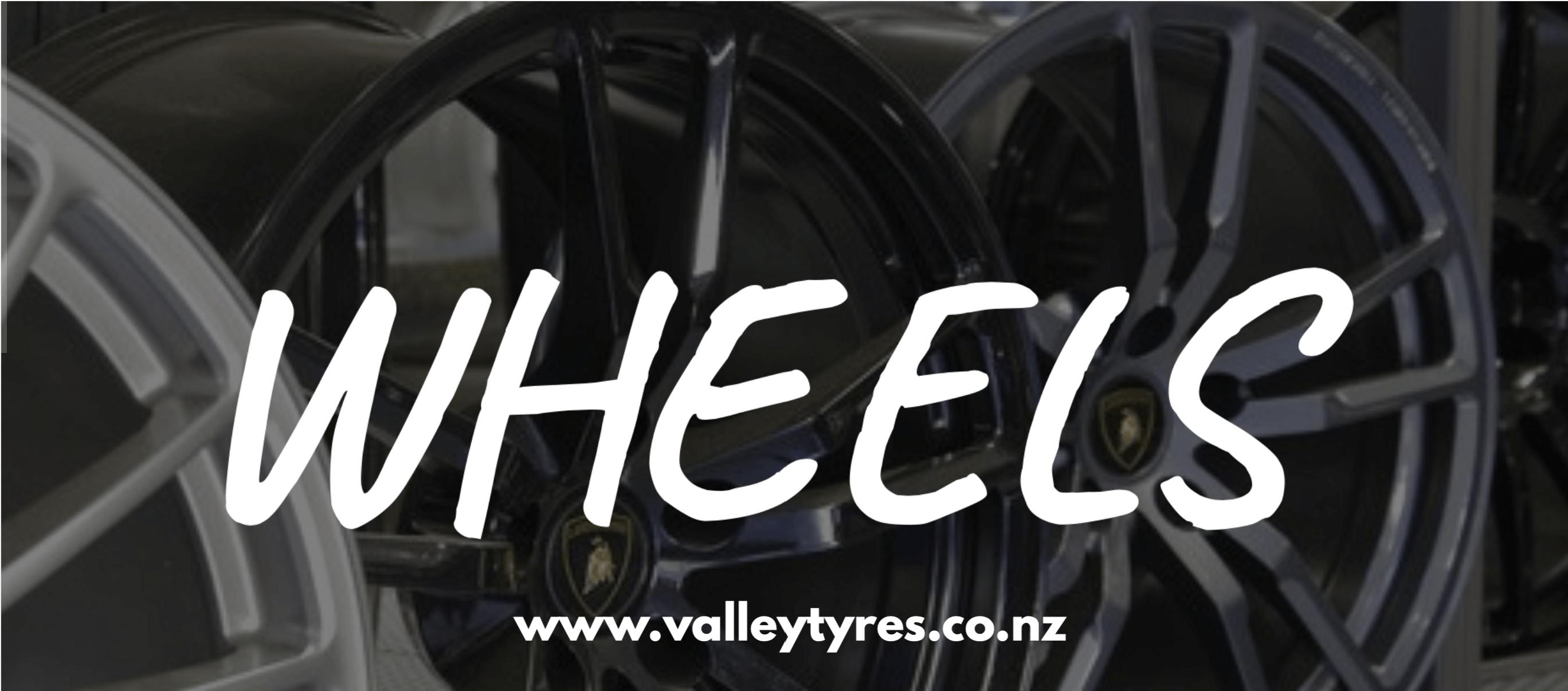 Wheel & Tyre Combo valley tyres 2021