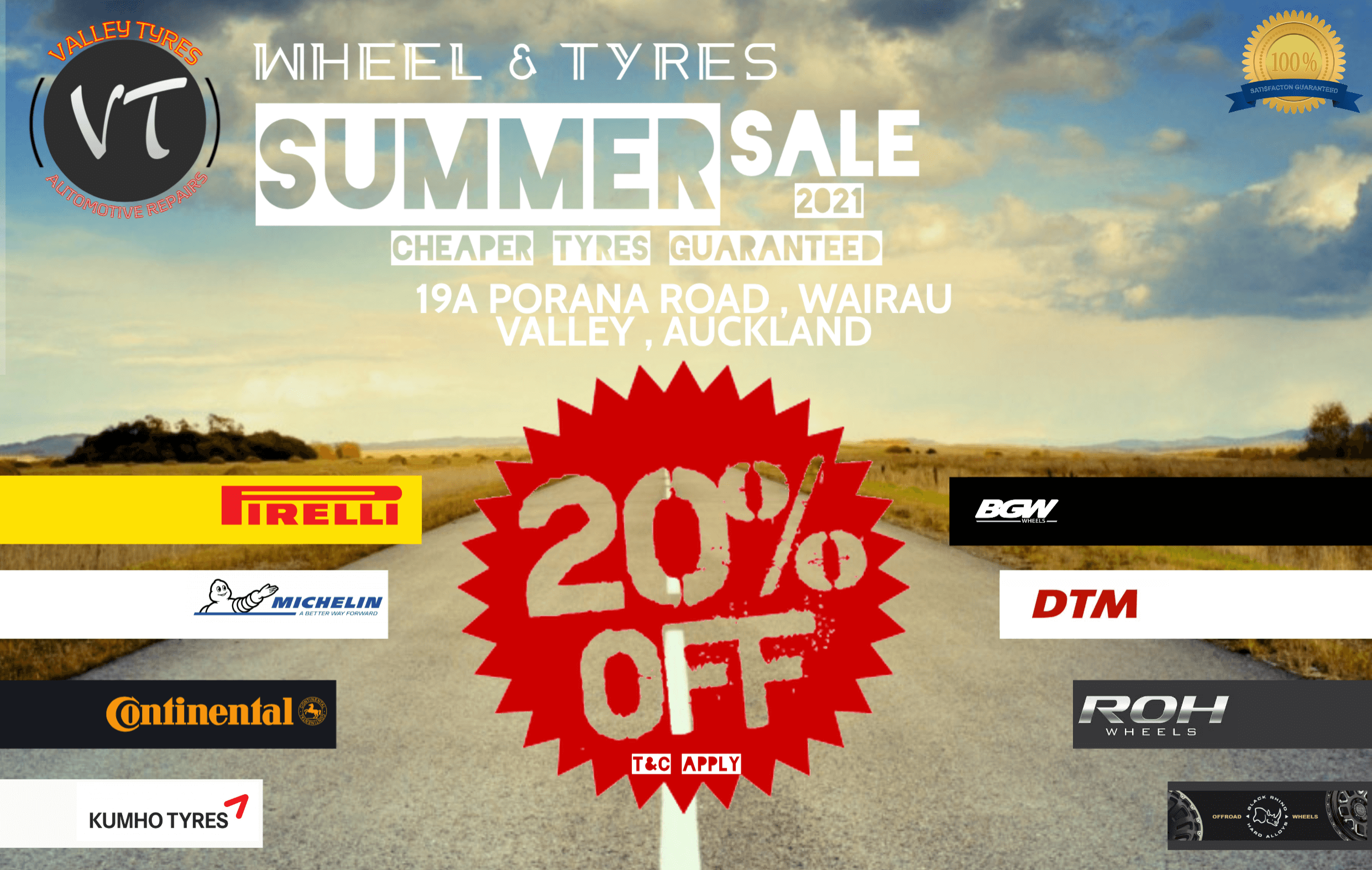 20% OFF WHEEL ANDD TYRE COMBO DEAL