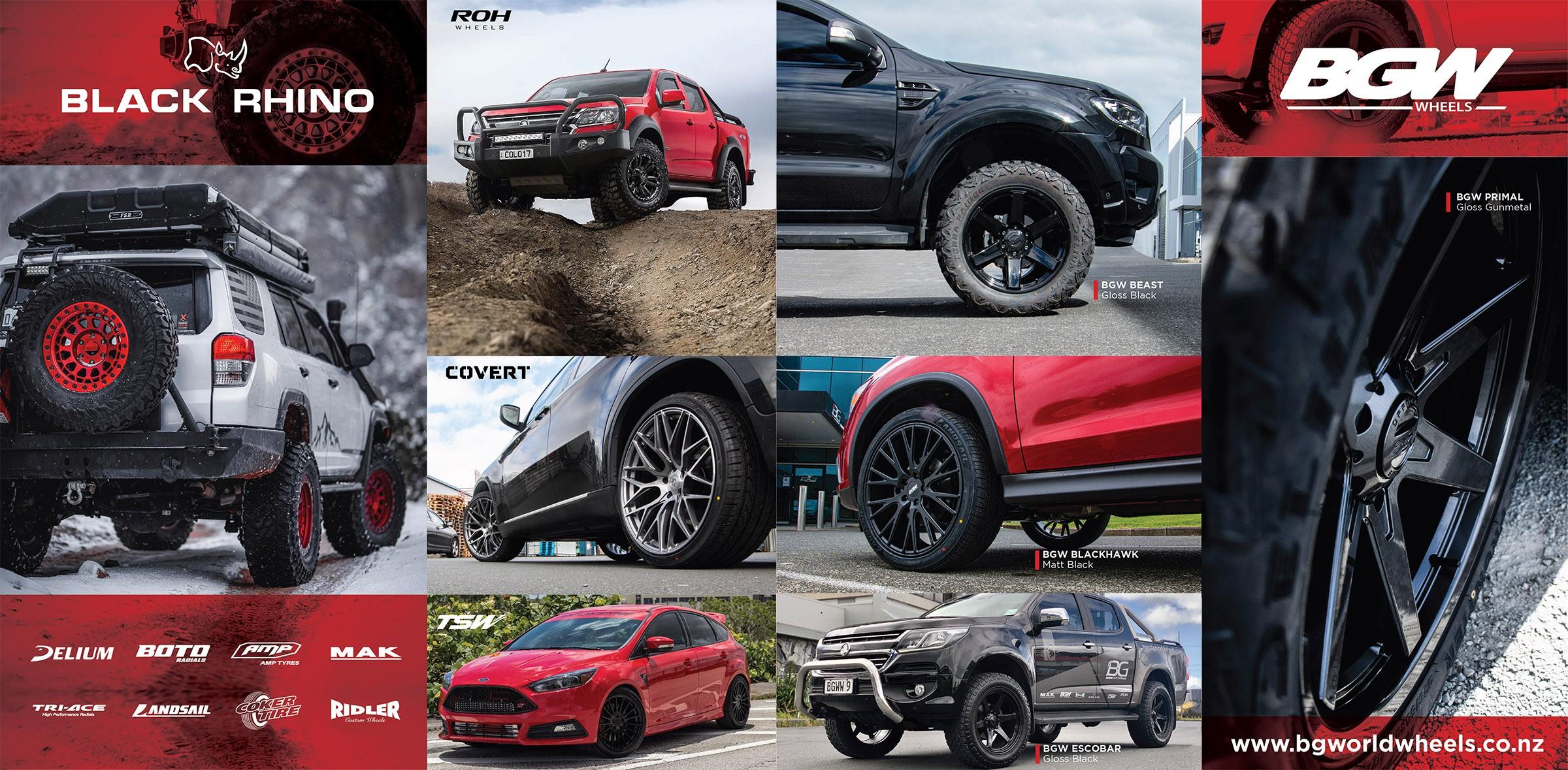 BGW wheels sale