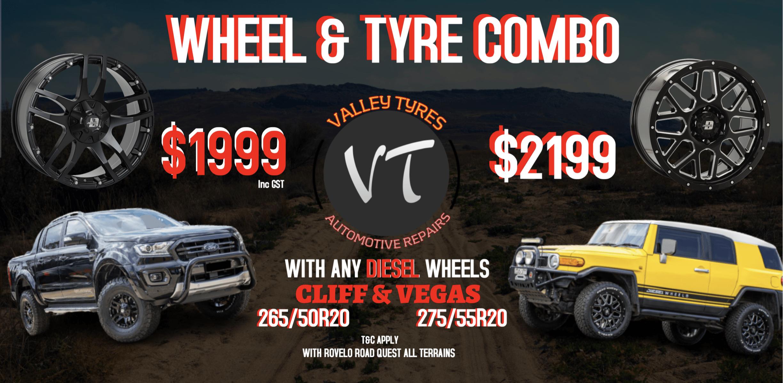 Valley Tyres & Wheels Sale - Off-road vehicle