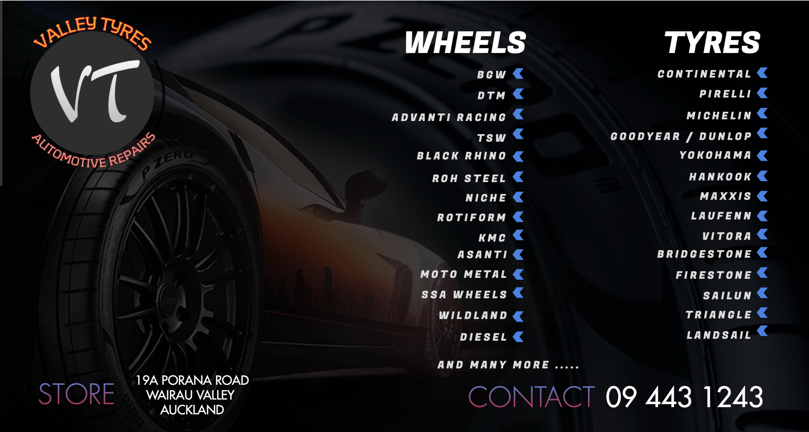 VALLEY WHEEL AND TYRE SERVICES